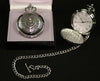 Celtic Thistle Quartz Pocket Watch - PW103Q