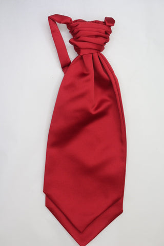 Wine red Ruche Cravat