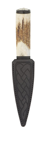 Staghorn Thistle Sgian Dubh - SD90T