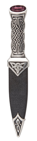 Celtic Knotwork Sgian Dubh - SD98