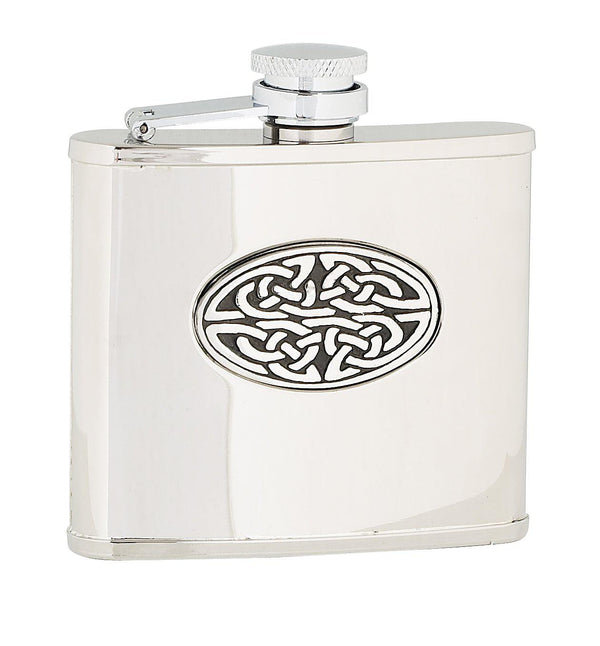 Small Celtic Sporran Flask - 4oz - Anderson Kilts