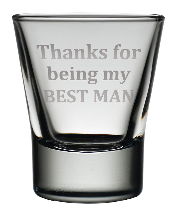 Engraved Dram Glass - Personal Message