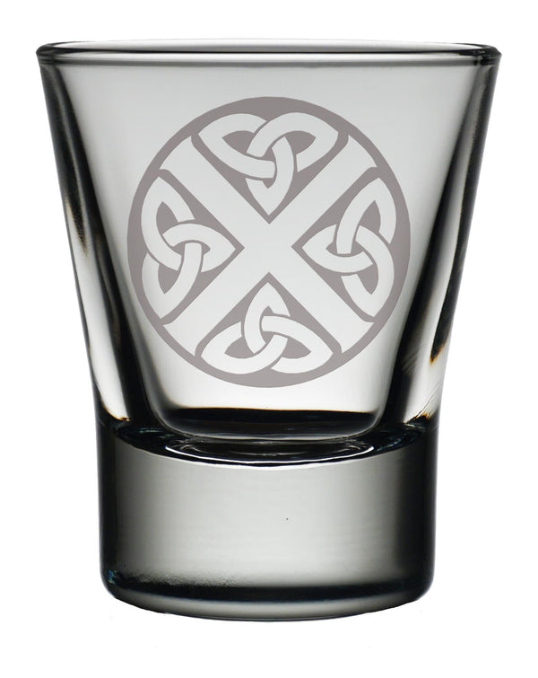 Engraved Dram Glass - Symbol