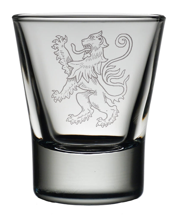Engraved Dram Glass - Symbol - Anderson Kilts