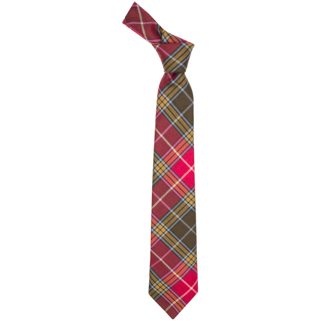 Buchanan Old Weathered Tartan Tie
