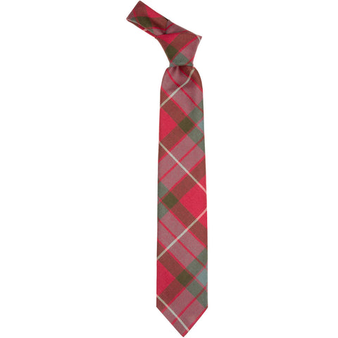 Fraser Red Weathered Tartan Tie