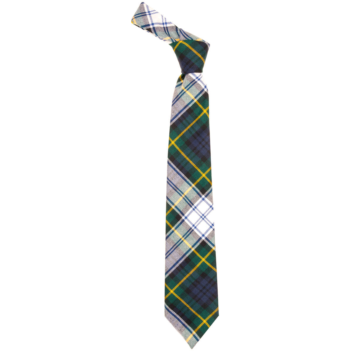 Gordon Dress Modern Tartan Tie - Lochcarron weavers