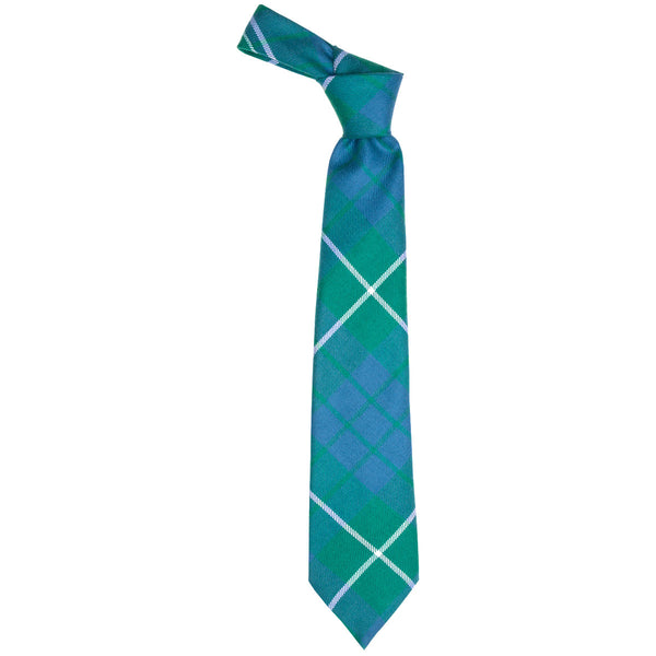 Hamilton Green Ancient Tartan Tie