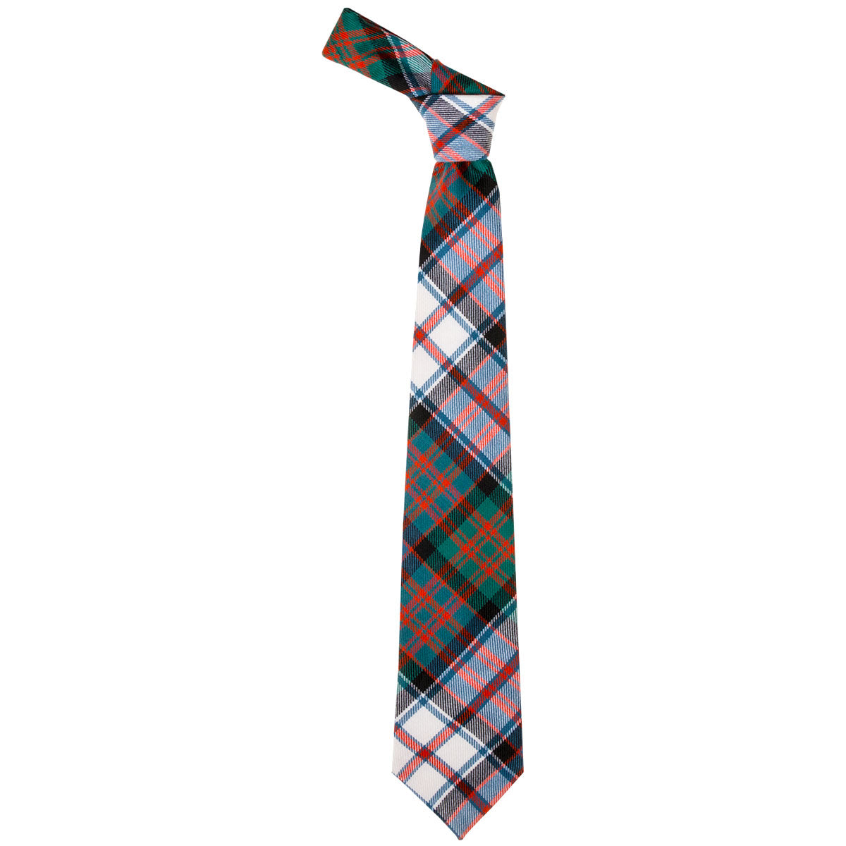 MacDonald Dress Ancient Tartan Tie from Anderson Kilts