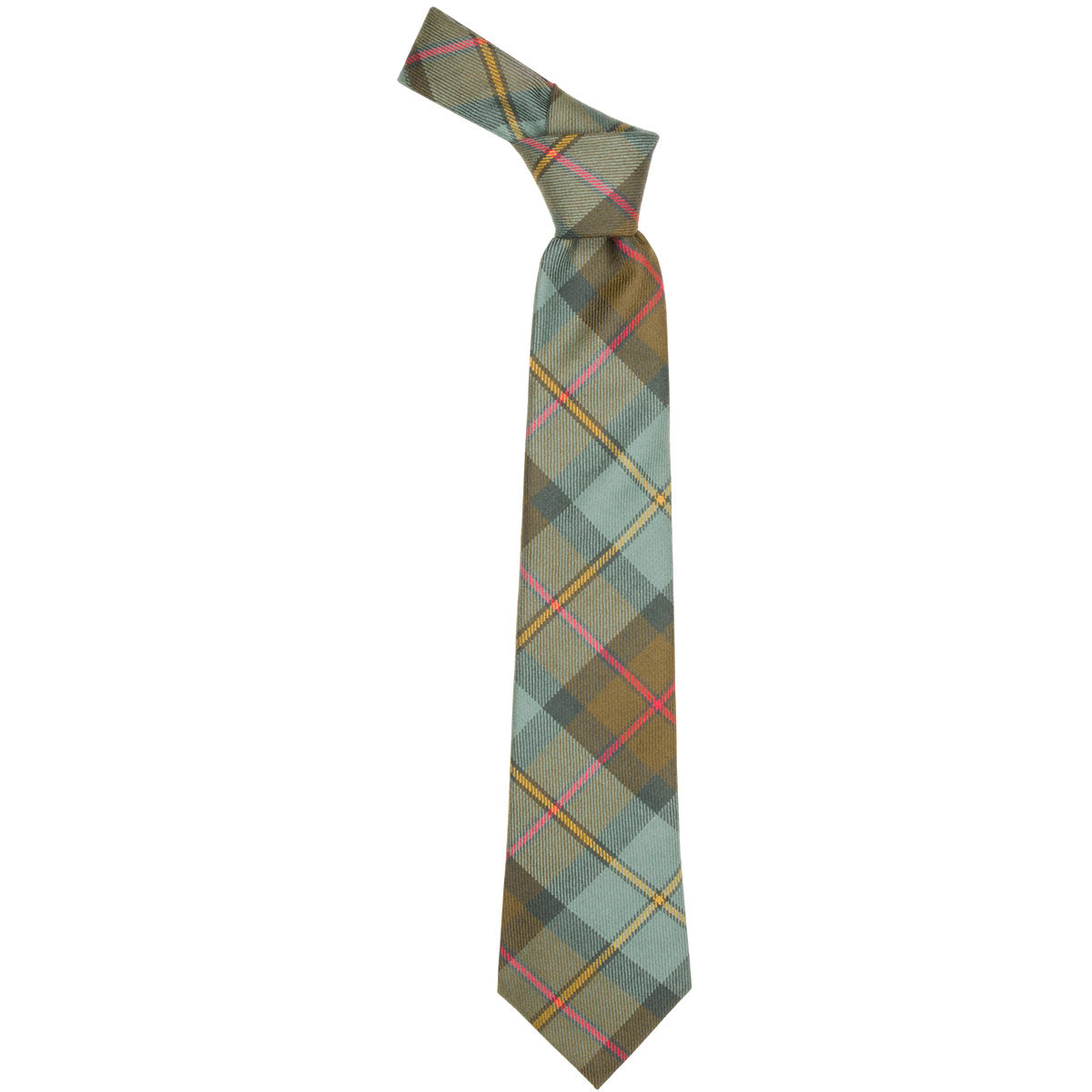 MacLeod of Harris Weathered Tartan Tie from Anderson Kilts