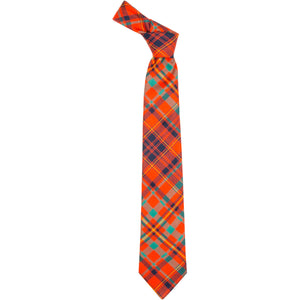 MacLeod Red Ancient Tartan Tie from Anderson Kilts