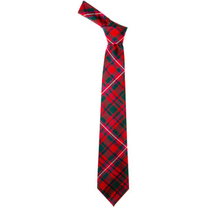 MacKinnon Red Modern Tartan Tie
