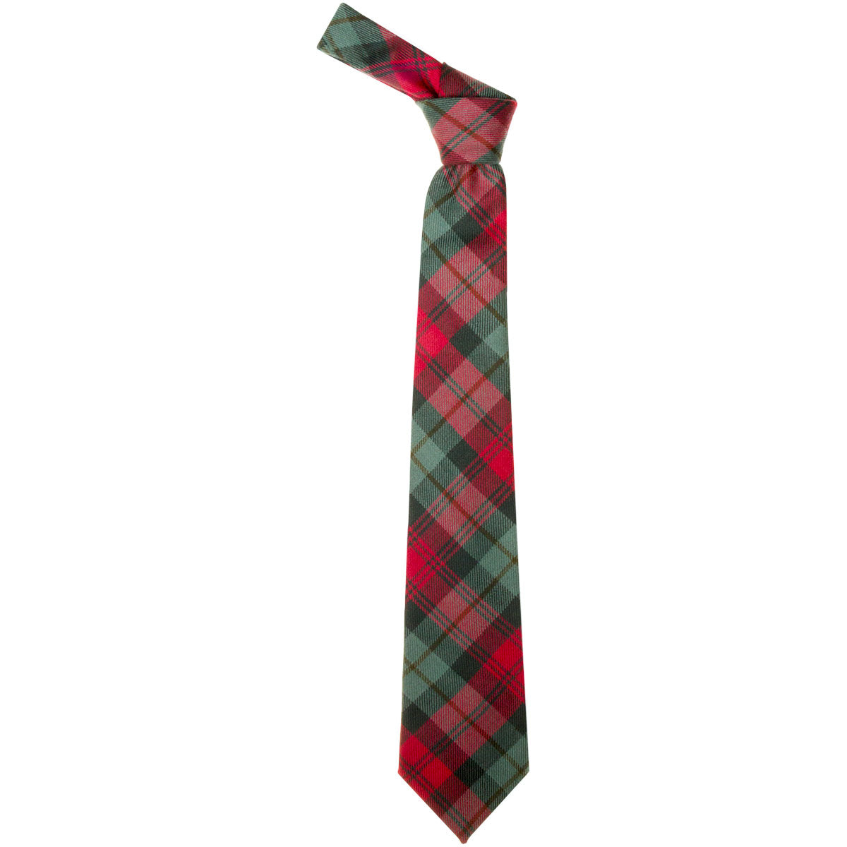 MacLachlan Weathered Tartan Tie from Anderson Kilts