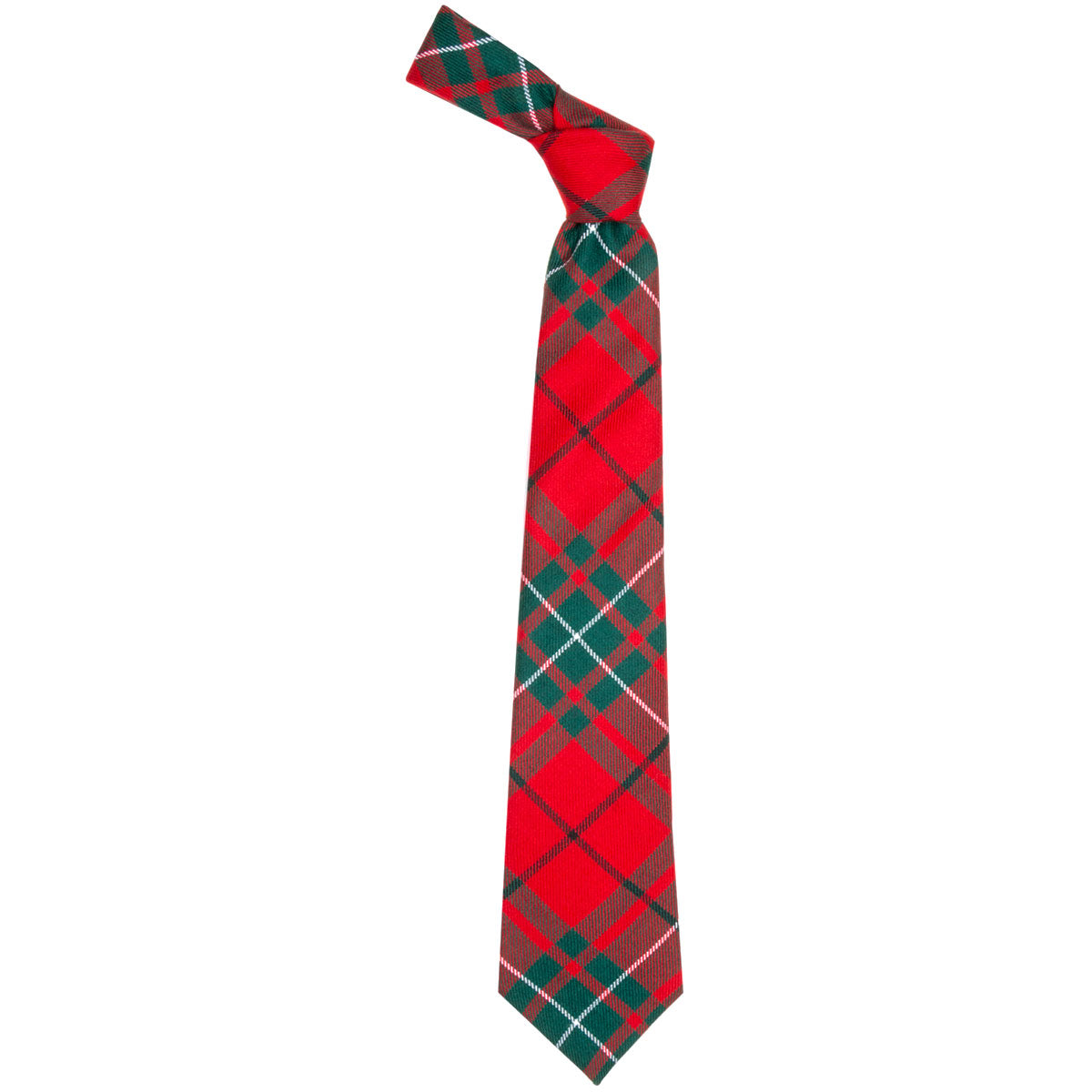 MacAuley Red Modern Tartan Tie from Anderson Kilts