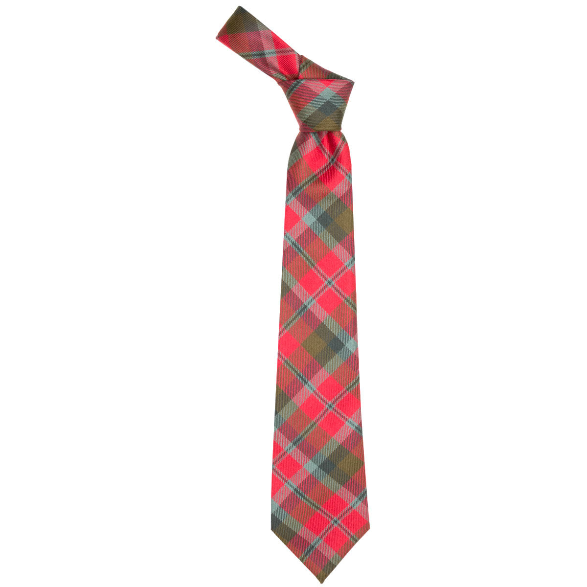 MacNaughton Weathered Tartan Tie from Anderson Kilts