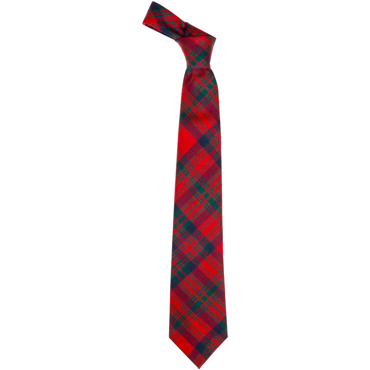 Matheson Red Modern Tartan Tie from Anderson Kilts