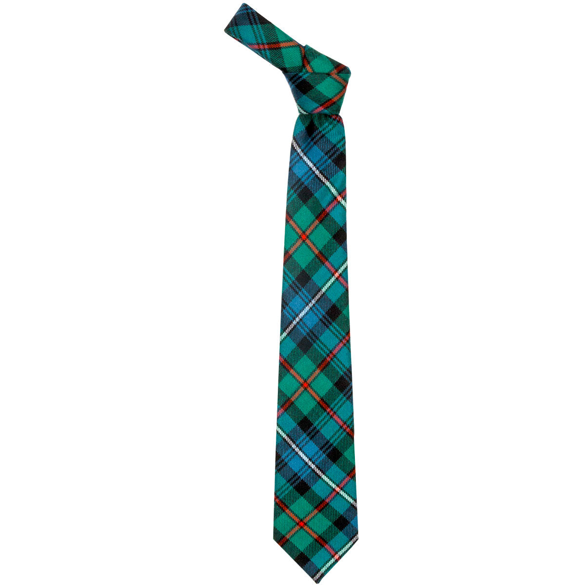 Robertson Hunting Ancient Tartan Tie from Anderson Kilts