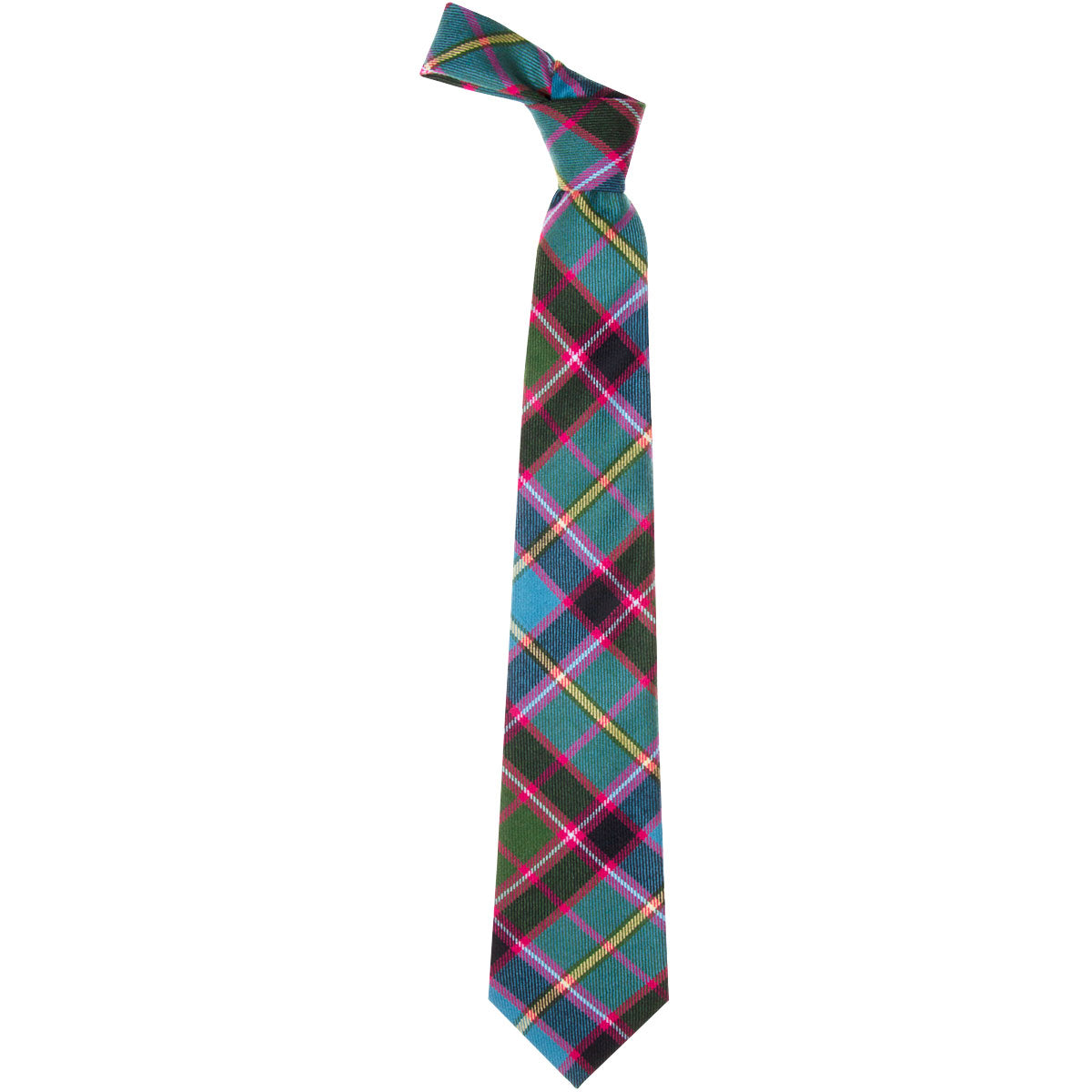 Stirling and Bannockburn Tartan Tie