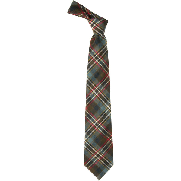 Scott Green Weathered Tartan Tie