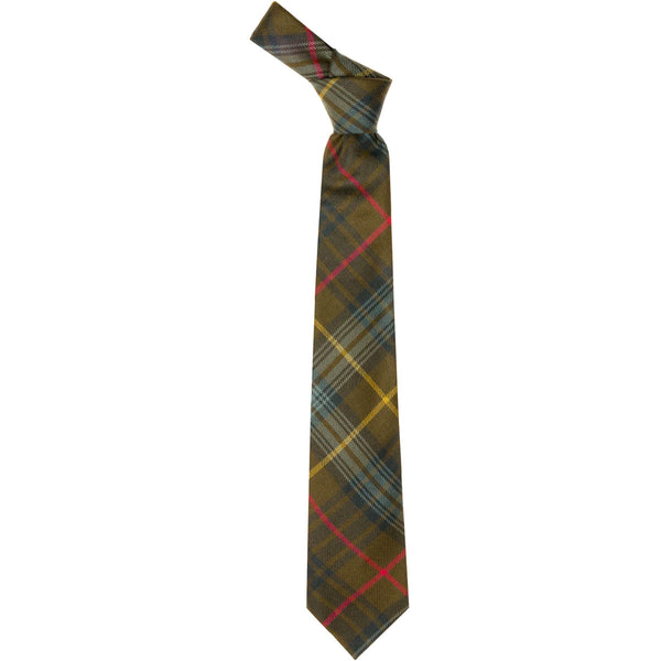 Stewart Hunting Weathered Tartan Tie