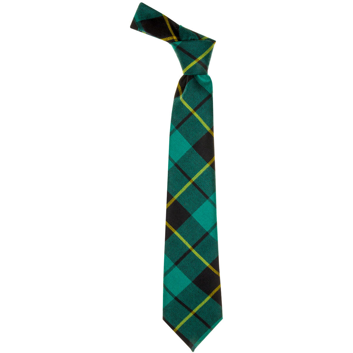 Wallace Anc Hunting Tartan Tie from Anderson Kilts Dumfries