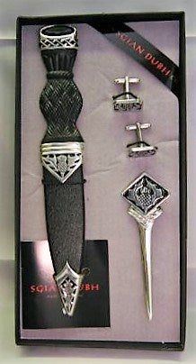 Thistle Design Stone Top Gift Set - SK70 - Anderson Kilts