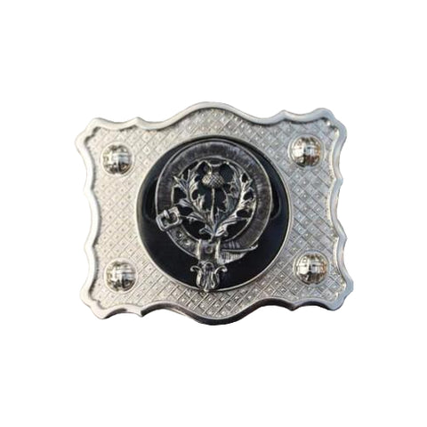 Clan Crest Buckle (A-L)