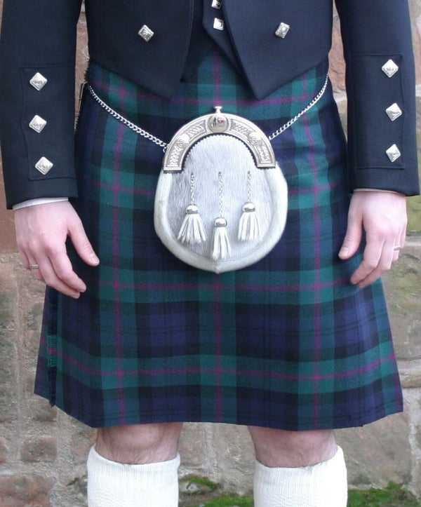8 yard hand made kilt - Package tartans