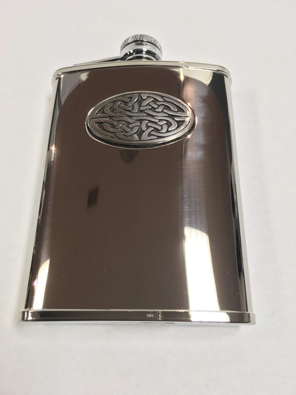 Celtic sporran hip flask - 6oz