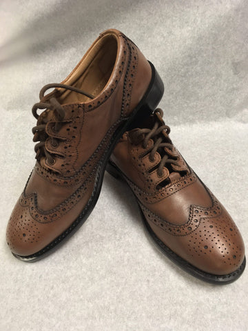 Premium Camel Leather Ghillie Brogue Style 1112