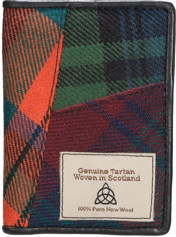 Tartan Patch Card Holder - Anderson Kilts