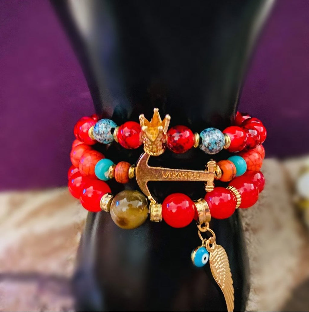 'Red Beauty' Stylish Bracelet