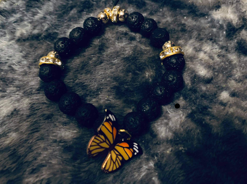 """Butterfly Royalty"" Bracelet"