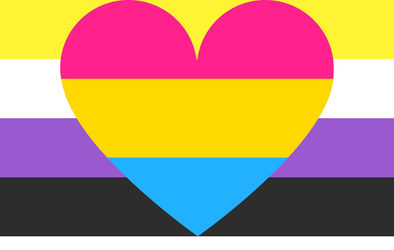 My Gender Pride Flags: Nonbinary Pansexual Pride Flag