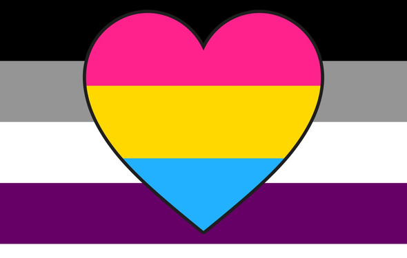 Asexual Panromantic Pride Flag