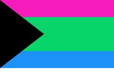 DemiPoly Neutral Pride Flag