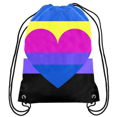 Nonbinary Bisexual Drawstring Backpack