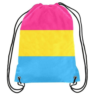 Pansexuality Drawstring Backpack
