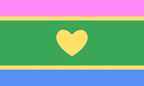 Polyromantic Pride Flag