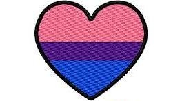 Bisexual Pride Heart Patch