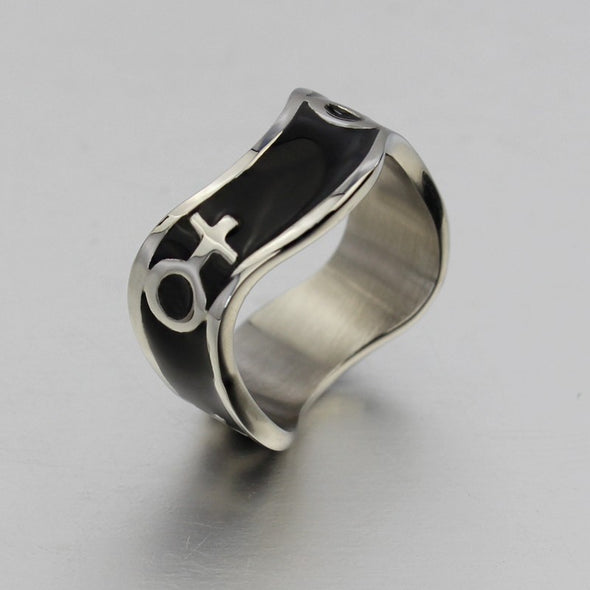 Vintage Female Gender Symbol Ring