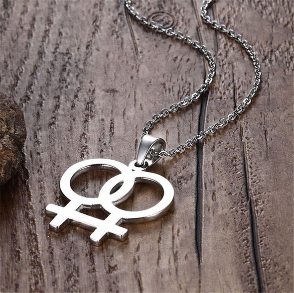 Stainless Necklaces LGBT Jewelry
