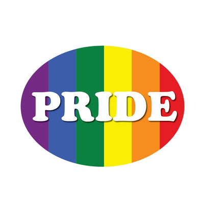 Pride  Rainbow Reflective Car Sticker