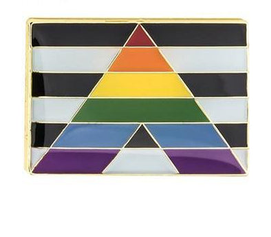 Straight Alliance Pride Pin