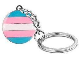 Transgender Pride Key Chain