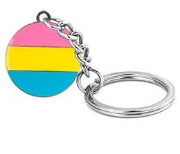 Pansexual Pride Key Chain
