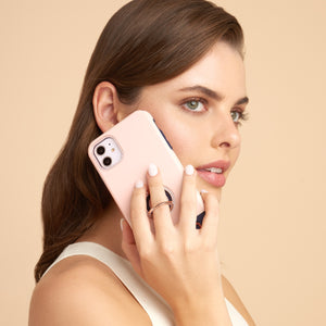Regal iPhone Case - Navy / White / Pink