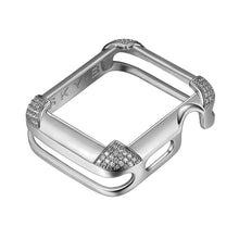 Load image into Gallery viewer, Pavé © Corners Apple Watch Case - Silver