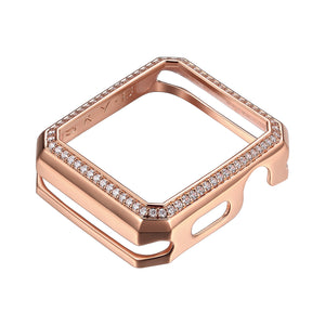 Deco Halo Apple Watch® Case - Rose Gold