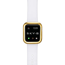 Load image into Gallery viewer, Top View Gold Minimalist Apple Watch Case
